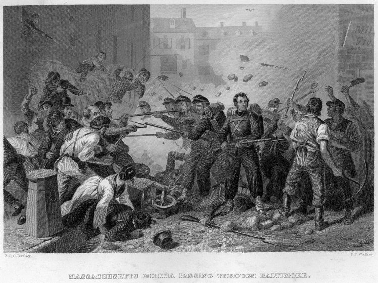 6th_Massachusetts_Militia_Passing_through_Baltimore